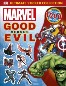 Marvel Good vs Evil Ultimate Sticker Collection, Paperback / softback Book