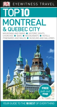 Top 10 Montreal and Quebec City, Paperback Book