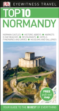 Top 10 Normandy, Paperback Book