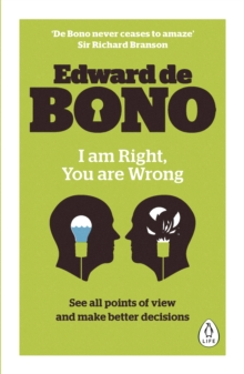 I Am Right, You Are Wrong, Paperback / softback Book