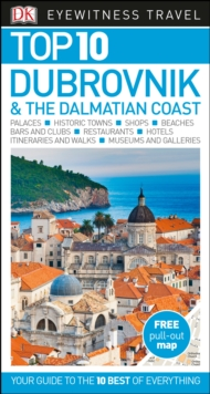 Top 10 Dubrovnik and the Dalmatian Coast, Paperback Book