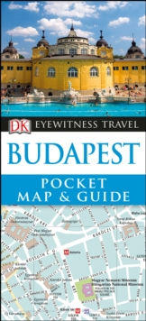 DK Eyewitness Budapest Pocket Map and Guide, Paperback / softback Book