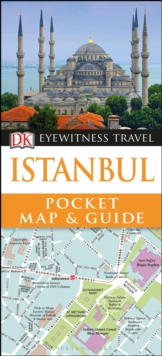 Istanbul Pocket Map and Guide, Paperback / softback Book