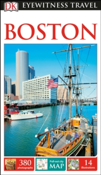 DK Eyewitness Travel Guide Boston, Paperback / softback Book
