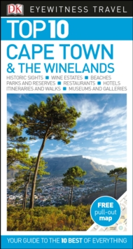 Top 10 Cape Town and the Winelands, Paperback Book