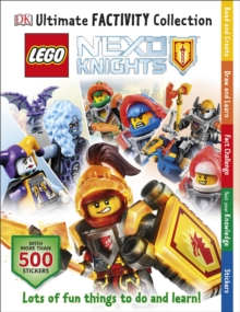 LEGO (R) NEXO KNIGHTS Ultimate Factivity Collection, Paperback Book