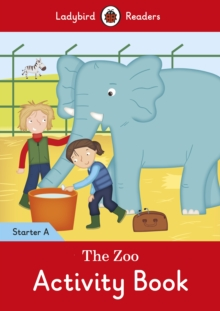 The Zoo Activity Book - Ladybird Readers Starter Level A, Paperback Book