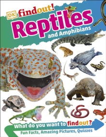 Reptiles and Amphibians, Paperback Book
