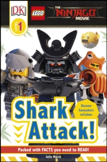 LEGO (R) NINJAGO (R) Movie (TM) Shark Attack!, Hardback Book