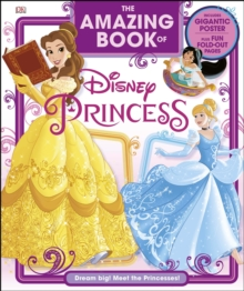 The Amazing Book Of Disney Princess, Hardback Book