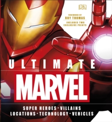 Ultimate Marvel : Includes two exclusive prints, Hardback Book