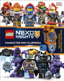 LEGO NEXO KNIGHTS Character Encyclopedia : With exclusive Minifigure, Mixed media product Book