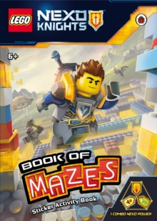 LEGO Nexo Knights: Book of Mazes, Paperback Book