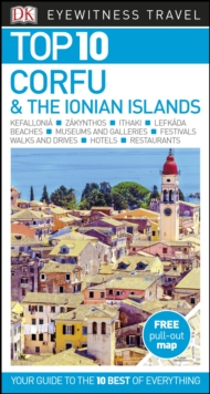 Top 10 Corfu and the Ionian Islands, Paperback / softback Book