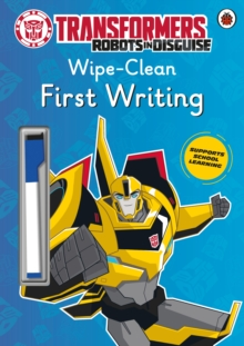Transformers: Robots in Disguise - Wipe-Clean First Writing, Paperback Book