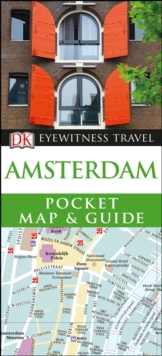 Amsterdam Pocket Map and Guide, Paperback Book