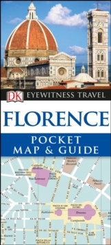 Florence Pocket Map and Guide, Paperback Book