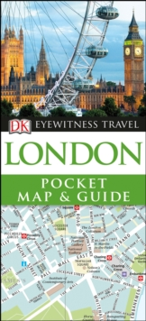 London Pocket Map and Guide, Paperback / softback Book