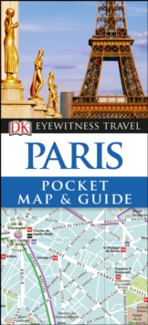 Paris Pocket Map and Guide, Paperback Book