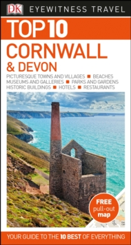 Top 10 Cornwall and Devon, Paperback Book