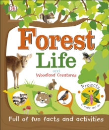 Forest Life and Woodland Creatures : Full of Fun Facts and Activities, EPUB eBook