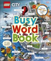 LEGO CITY Busy Word Book, Hardback Book
