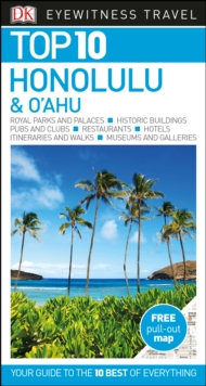 Top 10 Honolulu and O'ahu, Paperback / softback Book