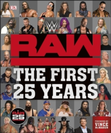 WWE RAW The First 25 Years, Hardback Book