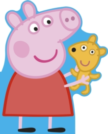 Peppa Pig: All About Peppa : A Peppa-shaped board book, Board book Book