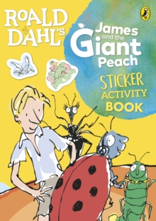 Roald Dahl's James and the Giant Peach Sticker Activity Book, Paperback / softback Book