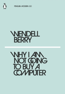 Why I Am Not Going to Buy a Computer, EPUB eBook