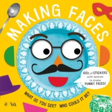 Making Faces: A Sticker Book, Paperback Book