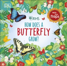 RHS How Does a Butterfly Grow?, Board book Book