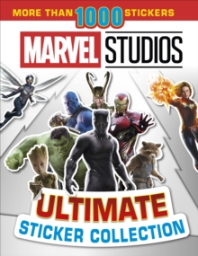 Marvel Studios Ultimate Sticker Collection : With more than 1000 stickers, Paperback / softback Book