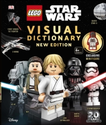 LEGO Star Wars Visual Dictionary New Edition : With exclusive Finn minifigure, Hardback Book