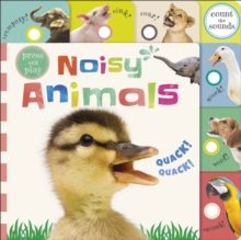 Press and Play Noisy Animals, Board book Book
