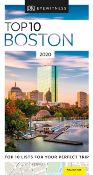 DK Eyewitness Top 10 Boston : 2020, Paperback / softback Book