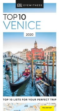 DK Eyewitness Top 10 Venice : 2020 (Travel Guide), Paperback / softback Book
