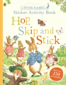 Peter Rabbit Hop, Skip, Stick Sticker Activity, Paperback / softback Book