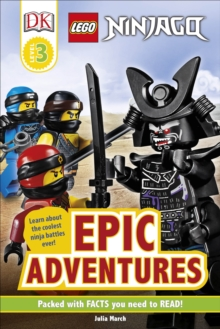 LEGO NINJAGO Epic Adventures, Hardback Book