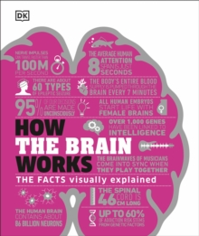 How the Brain Works : The Facts Visually Explained, Hardback Book