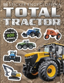 Total Tractor Sticker Encyclopedia, Paperback / softback Book