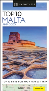 DK Eyewitness Top 10 Malta and Gozo, Paperback / softback Book