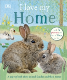 I Love My Home : A pop-up book about animal families and their homes, Board book Book