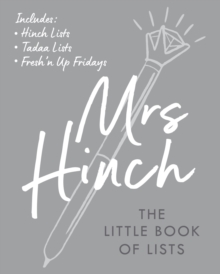 Mrs Hinch: The Little Book of Lists, Hardback Book