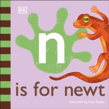 N is for Newt, Board book Book