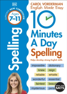 10 Minutes a Day Spelling Ages 7-11 : Helps develop strong english skills, EPUB eBook