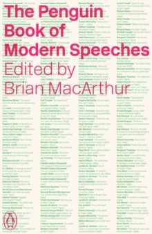 The Penguin Book of Modern Speeches, Paperback / softback Book
