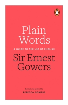 Plain Words, Paperback Book