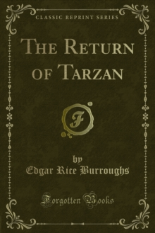 The Return of Tarzan, PDF eBook